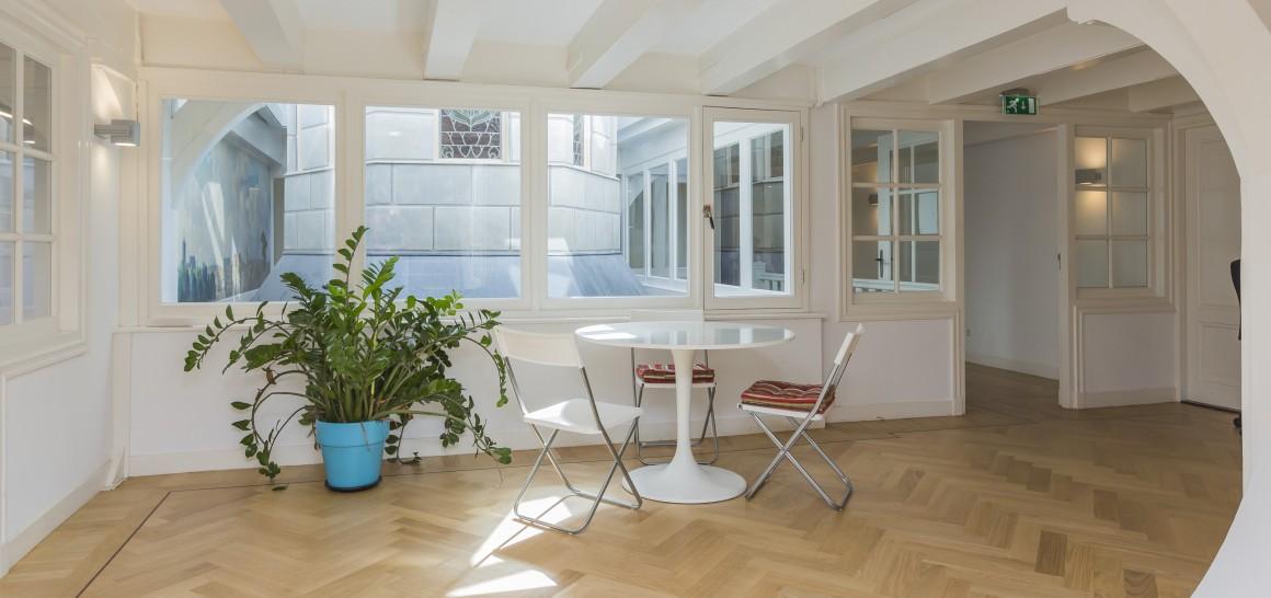 kantoorruimte in duurzaam bedrijfsverzamelpand in amsterdam